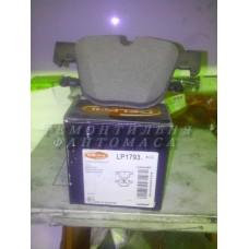 Колодки тормозные дисковые DELPHI LP1793