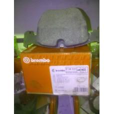 Колодки тормозные дисковые передние BREMBO p06021